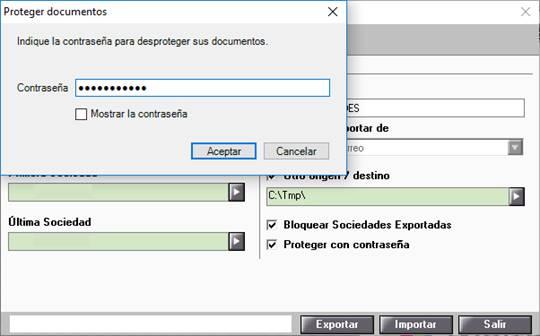 Desproteger documentos