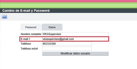 WKA Equipo Verificar email