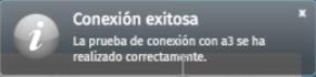 conexion exitosa