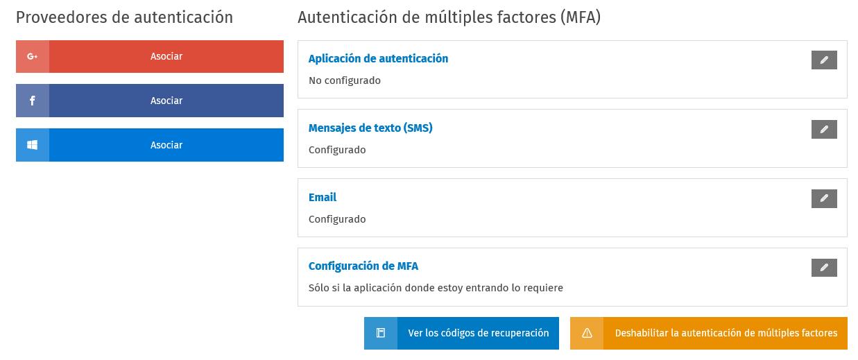 AAA Seguridad Autenticacion configurada