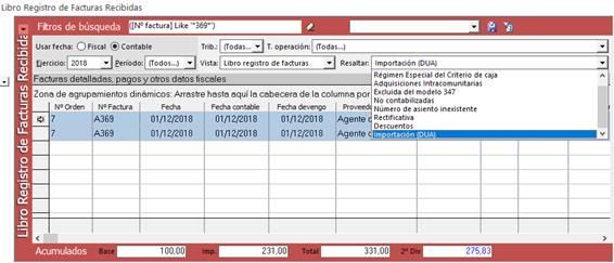 Libro de registro