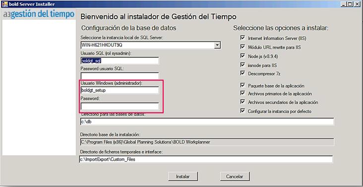 usuario windows