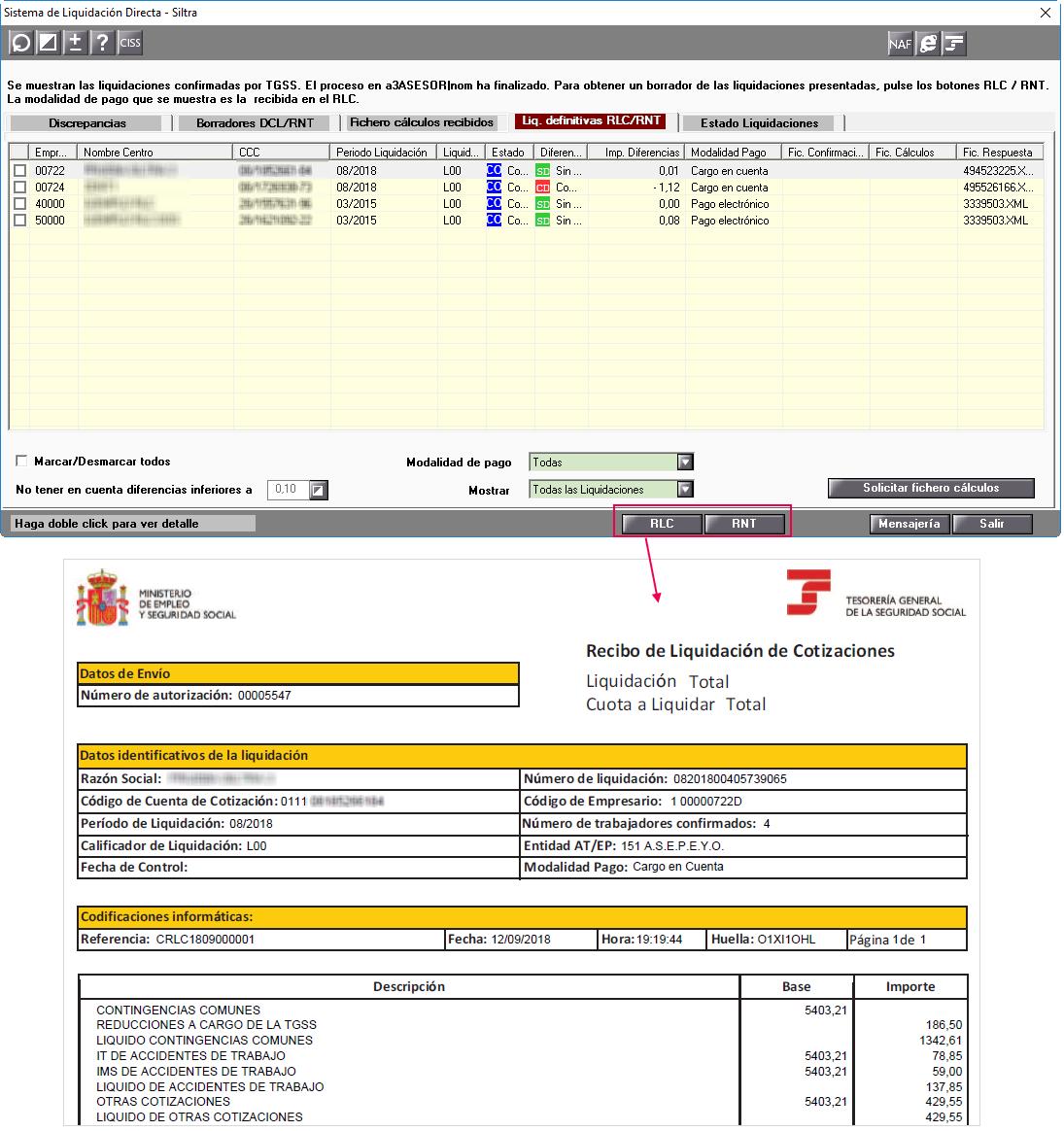 nuevas plantillas RNT y RLC en formato PDF