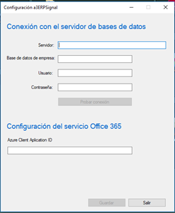 configuracion servidor