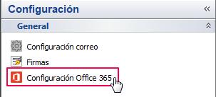 configuracion o365