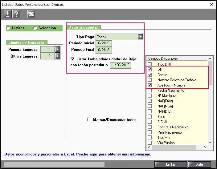 exportar_listado datos personales a Excel