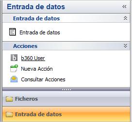 entrada datos