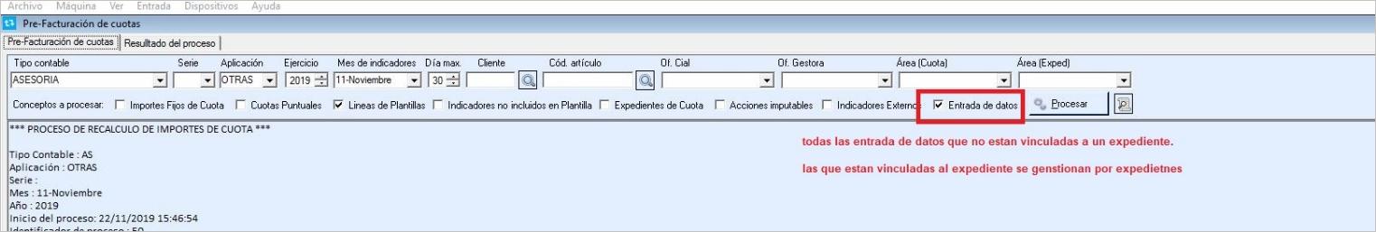 indicador entrada datos