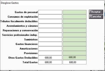 gastos manuales