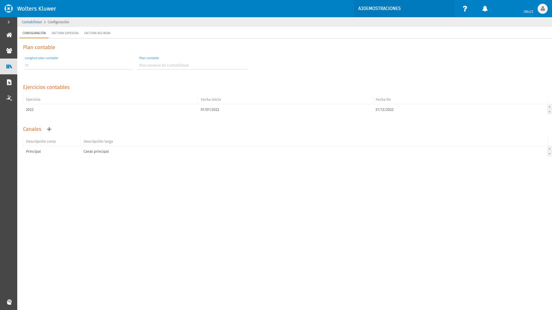 Contabilidad Configuracion