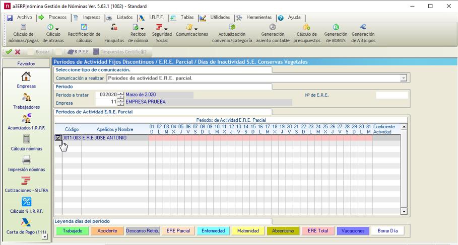 periodo actividad coronavirus covid-19