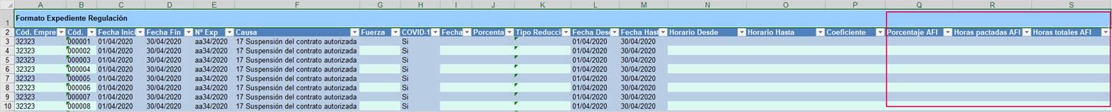 formato 5 expediente regulacion tiempo parcial
