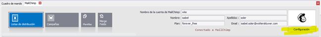 configurar mailchimp