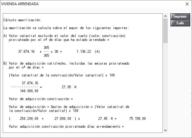 Detalle Calculo IA Amortizacion Onerosa Plano Dominio
