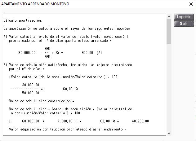 Detalle Calculo Inmueble Amortizacion