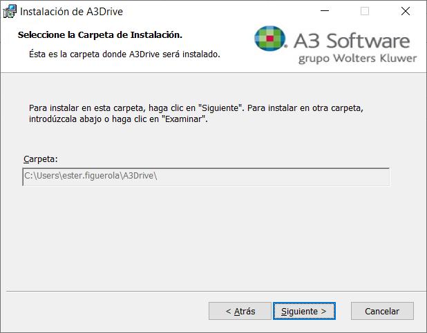 a3drive_carpeta_instalacion