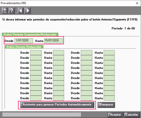 asistente generar periodos automaticos