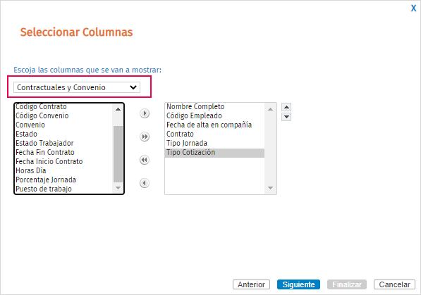 seleccionar columnas