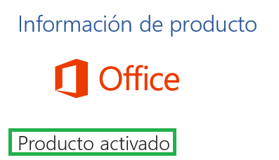 Office activado