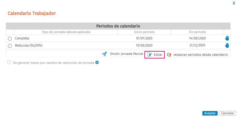 calendario trabajador R9582 R9503