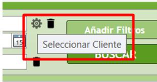 mensaje selecciona cliente