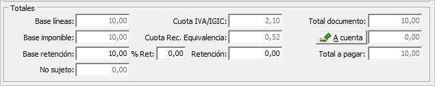total factura sii adquisiciones intracomunitarias
