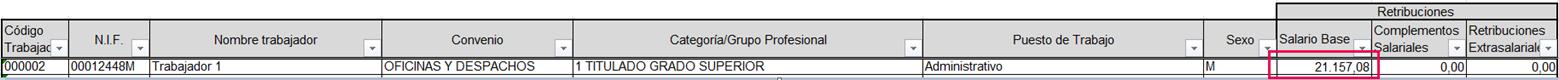 excel registro salarial