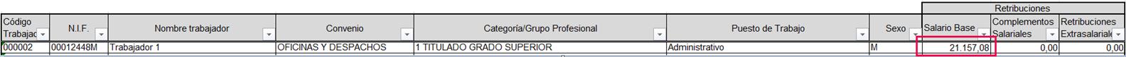 registro salarial obligatorio
