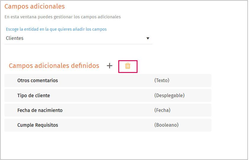 configuracion ejemplo eliminar