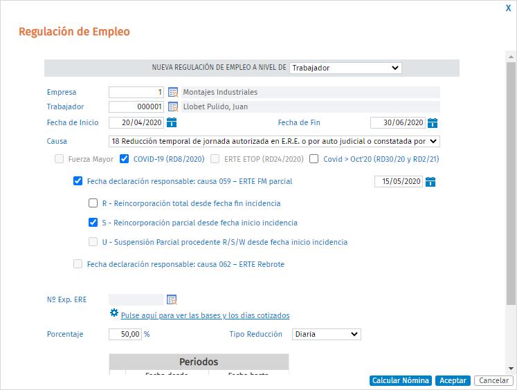 Modificar_ERTE suspension a ERTE_reduccion