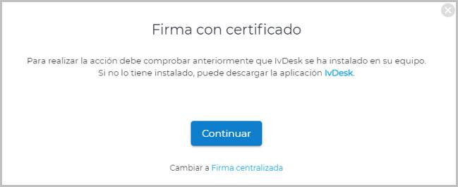 firma certificado local