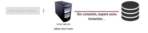 verificar datos de conexion del modulo