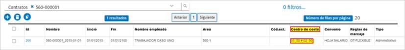 reparticion centros de costes en datos maestros