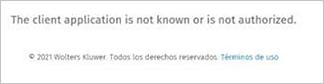 acceso denegado en aplicaciones cloud