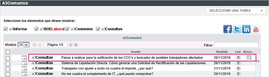 a3comunica buscador unificacion CCC