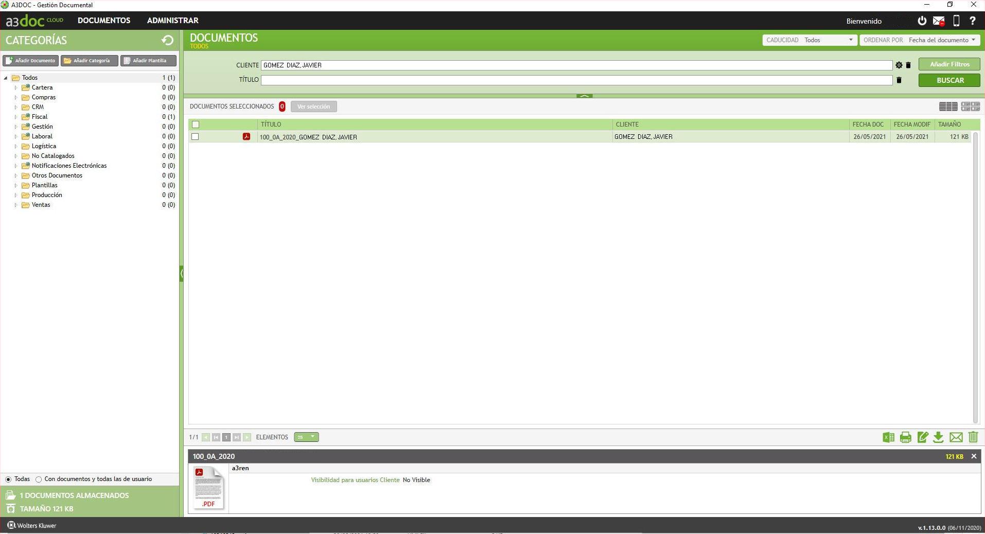 a3doc cloud Documentos del cliente