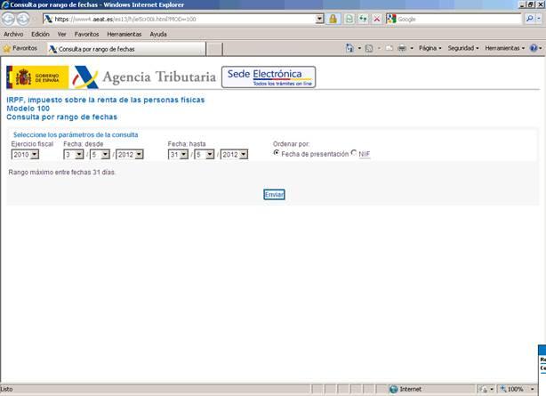 Web de la AEAT
