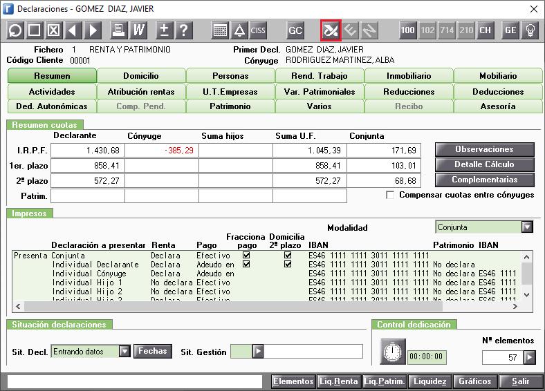 Resumen Servicios disponibles en la web de la AEAT