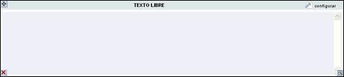 texto libre