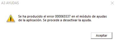 error 65537