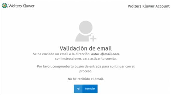 validacion de email