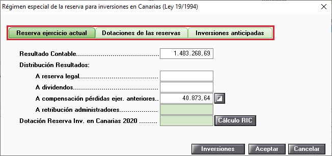 Regimen especial de la reserva para inversiones en Canarias