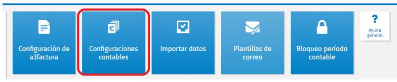 configuracion contable