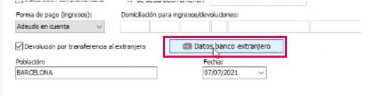 bancos extranjero