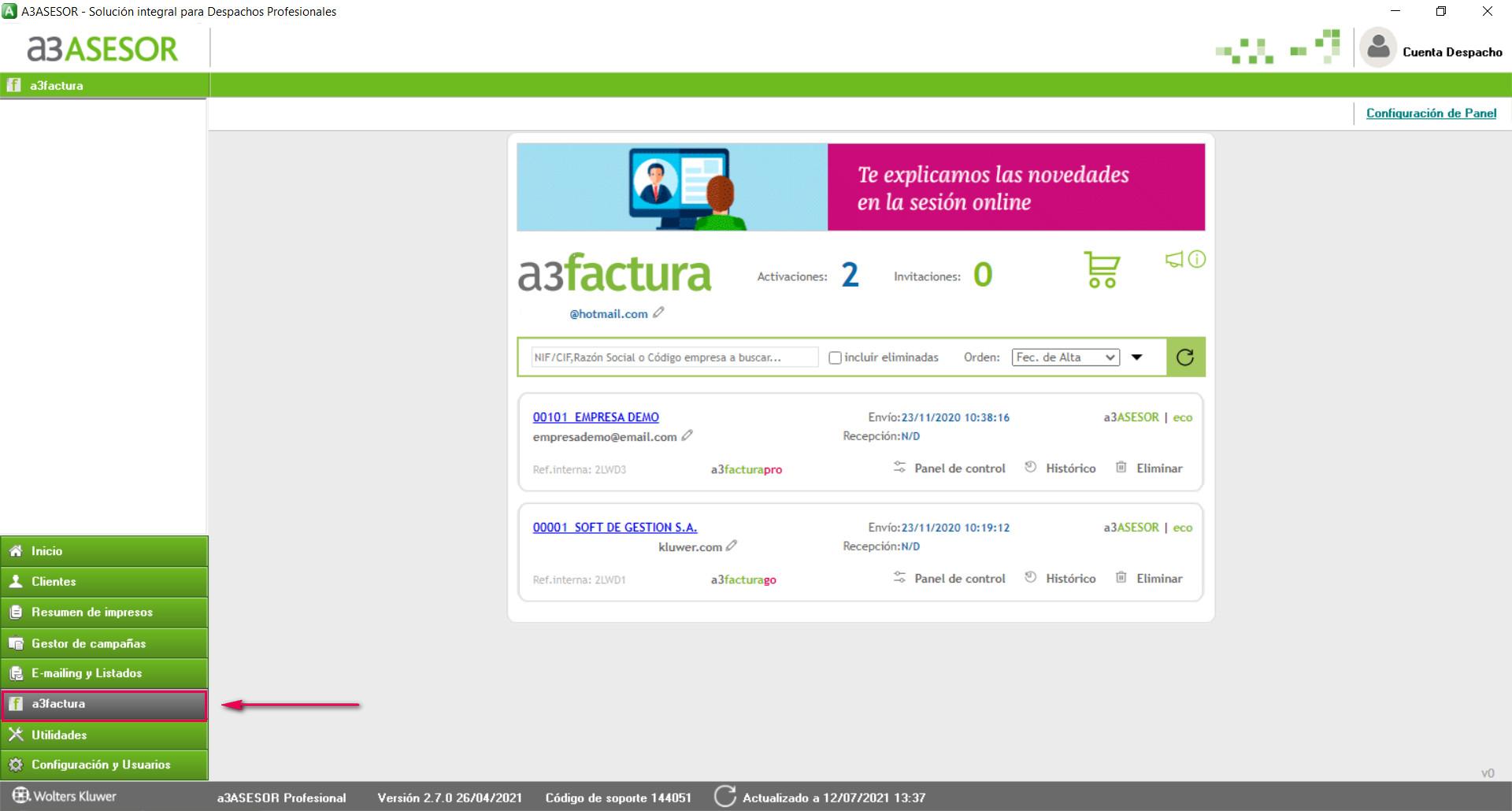 A3FACTURA