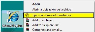 Ejecutar como administrador