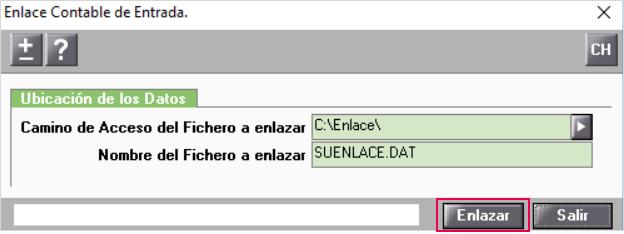 importar_fichero enlace contable