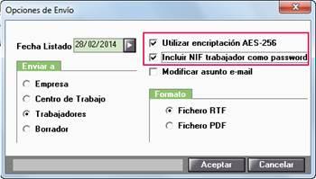 encriptación AES-256