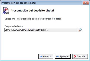 Presentación depósito digital