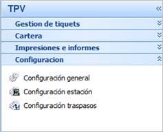 Tpv configuración